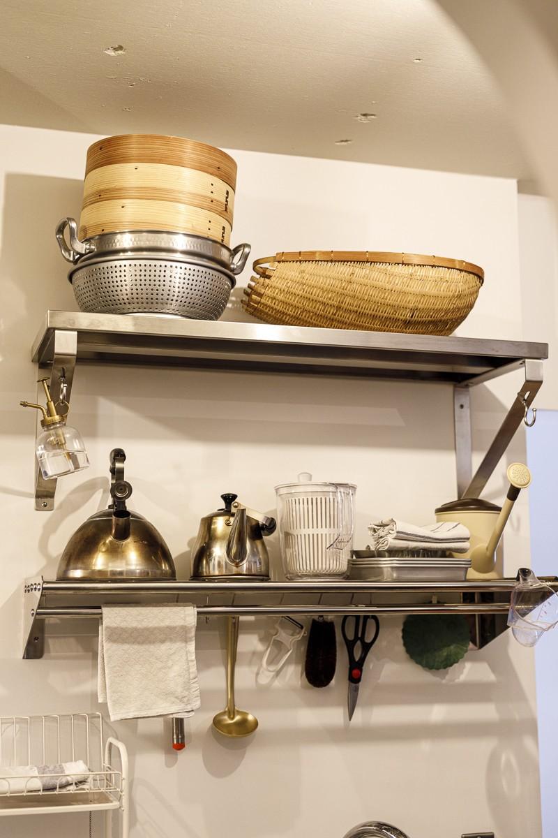 キッチン事例:キッチン(K邸-家は仕事を支える大切な場所。暮らしが心地よいと仕事もうまくいく)