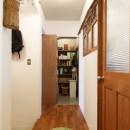 K邸-家は仕事を支える大切な場所。暮らしが心地よいと仕事もうまくいくの写真 パントリー