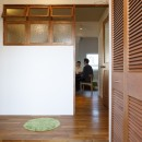 K邸-家は仕事を支える大切な場所。暮らしが心地よいと仕事もうまくいくの写真 玄関