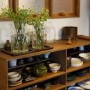 K邸-家は仕事を支える大切な場所。暮らしが心地よいと仕事もうまくいくの写真 食器棚