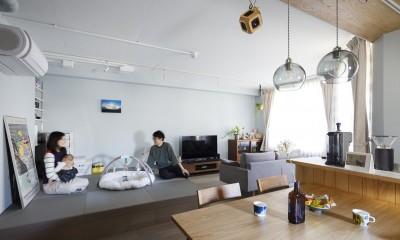 K邸-心地よくて合理的、リノベーションの新しいスタンダードを感じる家