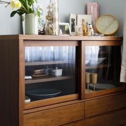 K邸-心地よくて合理的、リノベーションの新しいスタンダードを感じる家 (キッチン)