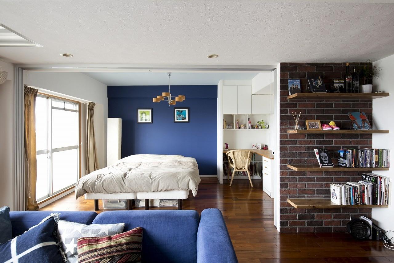 ベッドルーム事例:寝室(vintage=nostalgia)