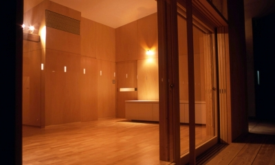 小松島の家 / 「間」に住まう (テラス、リビング)