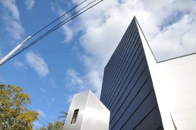 外観 (Landscape-house)
