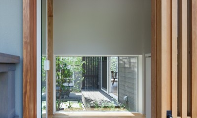 鎌倉中央公園の家 (玄関)