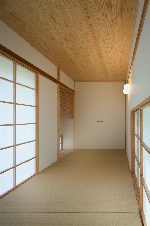 鎌倉中央公園の家 (和室)