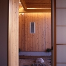 竹縁、和室