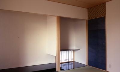 小松島の家 / 「間」に住まう (床の間)
