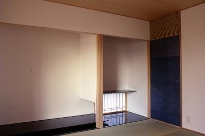 床の間 (小松島の家 / 「間」に住まう)