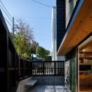 青葉台の家の写真 リビングテラス