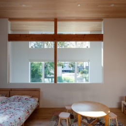 青葉台の家 (子供部屋)