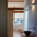 青葉台の家の写真 手洗いスペース