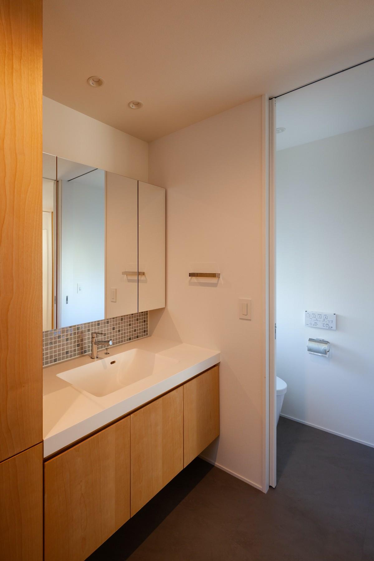 バス/トイレ事例:洗面脱衣室(青葉台の家)