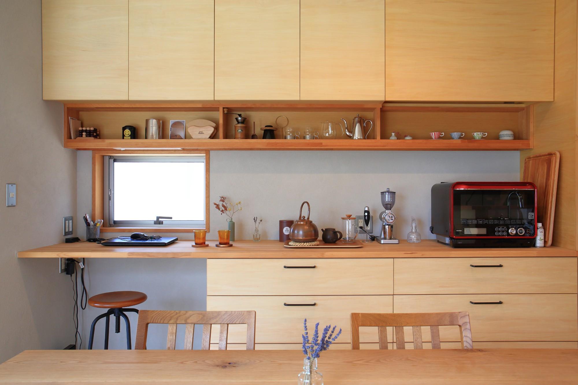 キッチン事例:ダイニングキッチン(暮らしを楽しむ家~好きなインテリアと雑貨に囲まれた暮らし~)