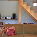 暮らしを楽しむ家~好きなインテリアと雑貨に囲まれた暮らし~の写真 リビングダイニング