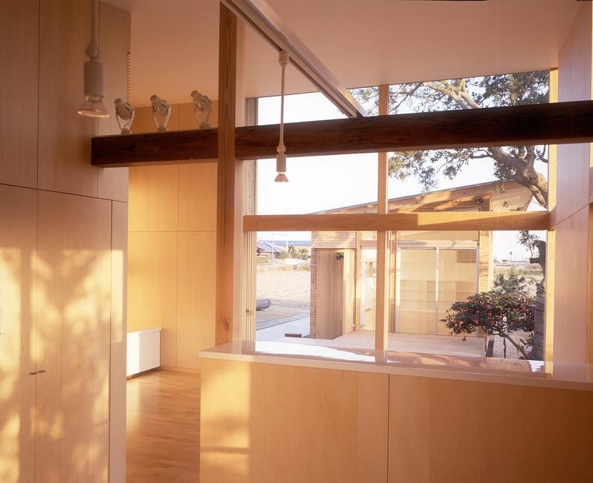 小松島の家 / 「間」に住まう (ダイニング、リビング、テラス、音楽室)