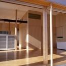 小松島の家 / 「間」に住まうの写真 リビング、テラス