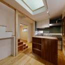 T様邸_3世代の思いをつつみこむ家の写真 キッチン