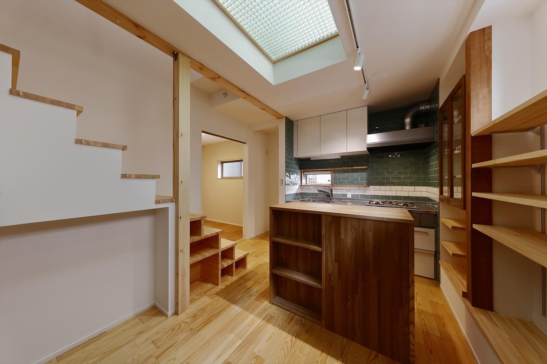 キッチン事例:キッチン(T様邸_3世代の思いをつつみこむ家)