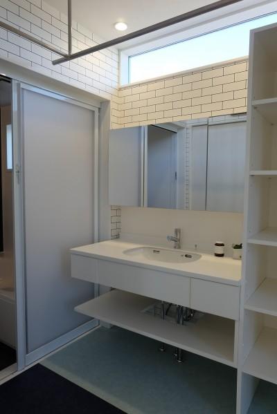 洗面室 (Via-house)