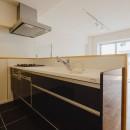 無垢材のやさしさの写真 キッチン