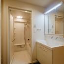 無垢材のやさしさの写真 洗面室、浴室