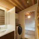 深沢の家の写真 洗面脱衣室
