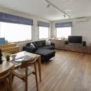 リノベーションで3室追加! 暮らしやすい家の工夫の写真 スタイリッシュなLD