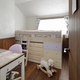 リノベーションで3室追加! 暮らしやすい家の工夫 (子ども室(女の子))