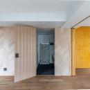 パノラマLDK12400の写真 洗面室への隠し扉