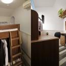 リノベーションで3室追加! 暮らしやすい家の工夫の写真 子ども室(男の子)