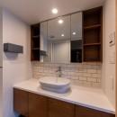 パノラマLDK12400の写真 フロート洗面台