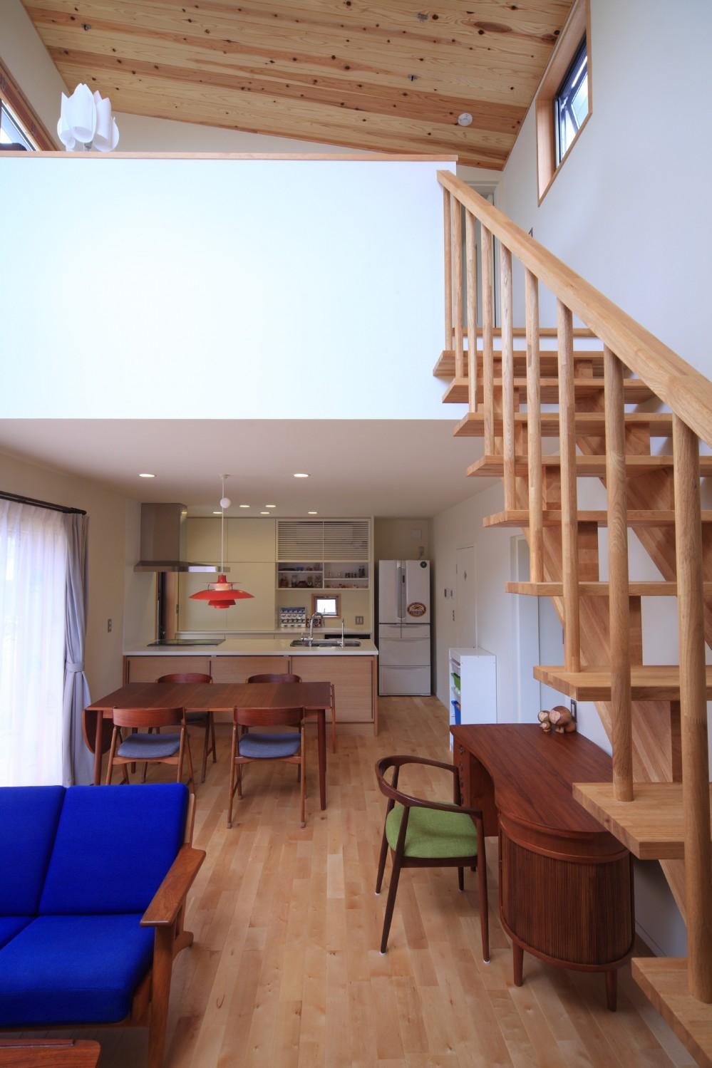 北欧家具と暮らす家~両親から譲り受けた古家の思い出をちりばめた家~ (LDK)