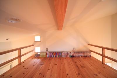 子供室 (北欧家具と暮らす家~両親から譲り受けた古家の思い出をちりばめた家~)