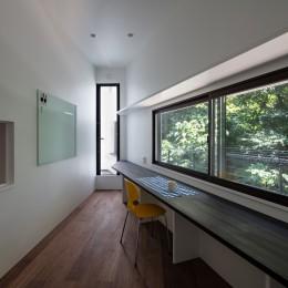 公園前の家 OUCHI-44 (書斎)