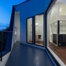 公園前の家 OUCHI-44の写真 屋上バルコニー夜景