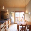シンプル+ナチュラルな家~2人の好きをMIXした家~の写真 ダイニングキッチン