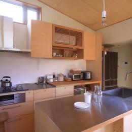 キッチン (シンプル+ナチュラルな家~2人の好きをMIXした家~)
