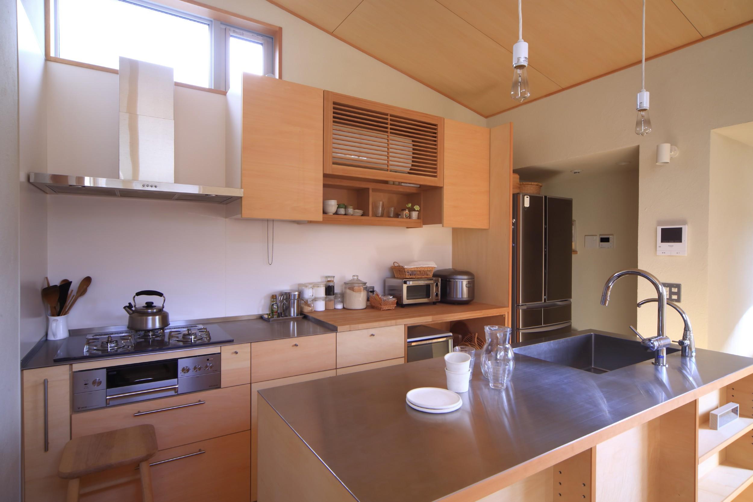 キッチン事例:キッチン(シンプル+ナチュラルな家~2人の好きをMIXした家~)