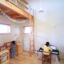 シンプル+ナチュラルな家~2人の好きをMIXした家~の写真 子供室