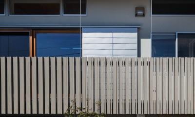 たまプラーザの家(2世帯住宅) (南面外観)