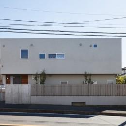 たまプラーザの家(2世帯住宅) (北面外観)