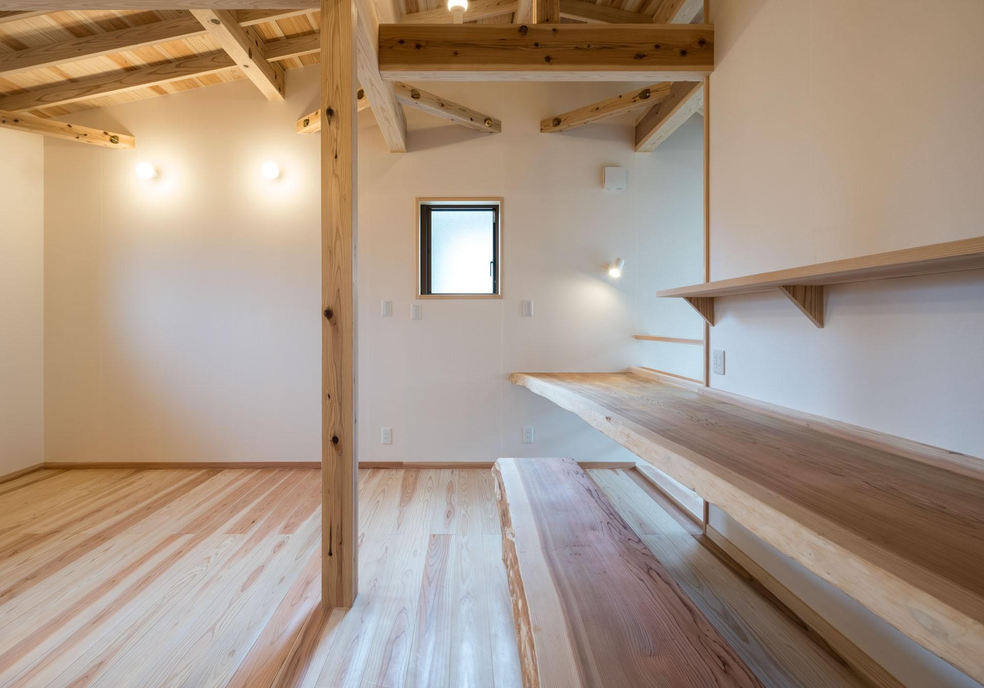 子供部屋事例:オープンスペース(KU VA CO ~ 縁側土間 * おうちキャンプのある暮らし ~)