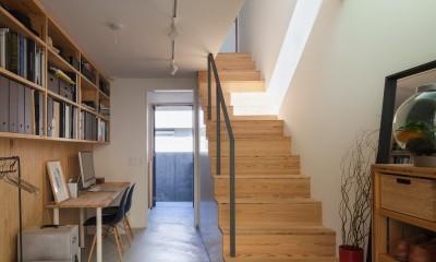 たまプラーザの家(2世帯住宅) (ワークルーム)