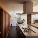 たまプラーザの家(2世帯住宅)の写真 キッチン