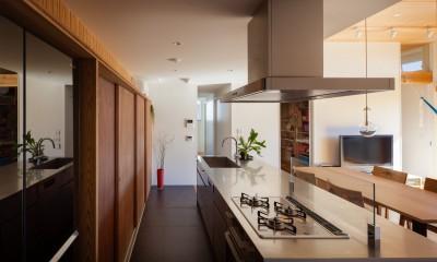 たまプラーザの家(2世帯住宅) (キッチン)