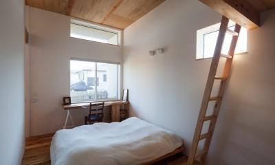 たまプラーザの家(2世帯住宅) (主寝室)