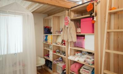 たまプラーザの家(2世帯住宅) (子供部屋)