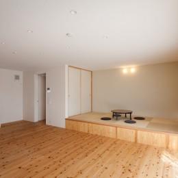 たまプラーザの家(2世帯住宅) (1階LDK)